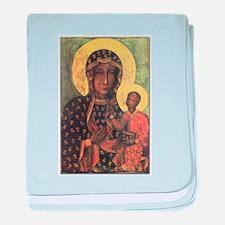 Our Lady of Czestochowa baby blanket