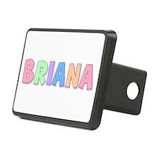 Briana Rainbow Pastel Hitch Cover