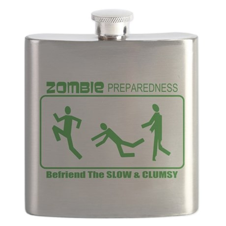 Zombie Preparedness Befriend Slow Clumsy Flask