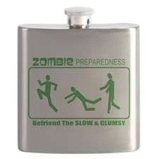 Zombie Preparedness Befriend Slow Clumsy Flask