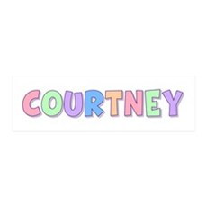 Courtney Rainbow Pastel 36x11 Wall Peel