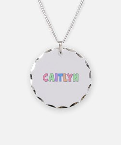 Caitlyn Rainbow Pastel Necklace
