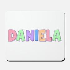 Daniela Rainbow Pastel Mousepad