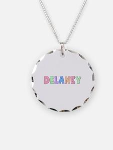 Delaney Rainbow Pastel Necklace