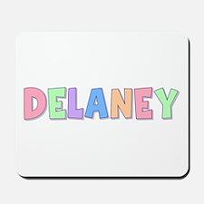 Delaney Rainbow Pastel Mousepad