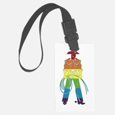 The Gay Cowboy Luggage Tag