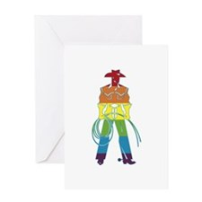 The Gay Cowboy Greeting Card