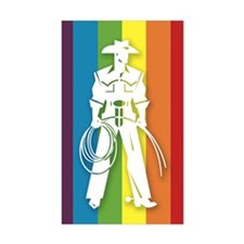 The Gay Cowboy Decal