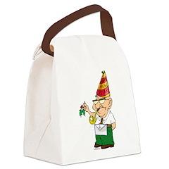 Manny The Mason Canvas Lunch Bag
