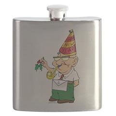 Manny The Mason Flask