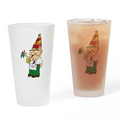Manny The Mason Drinking Glass