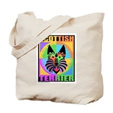 Cute Scottish terrier tote Tote Bag