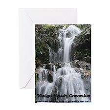 Wedge Brook Cascades Greeting Card