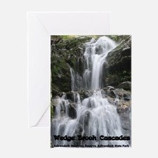 Wedge Brook Cascades Greeting Card