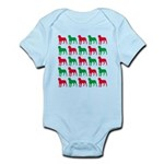 Rottweiler Christmas or Holiday Silhouettes Infant