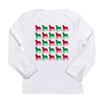 Rottweiler Christmas or Holiday Silhouettes Long S