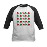 Rottweiler Christmas or Holiday Silhouettes Kids B