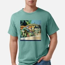 Ghost town Picture Mens Comfort Colors Shirt