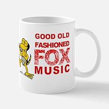 Roscoe artie play fox music Mug