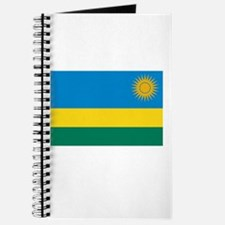 Rwanda Flag Picture Journal