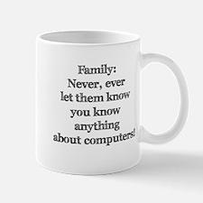 Family Computers Mug