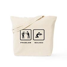 Chameleon Petting Tote Bag