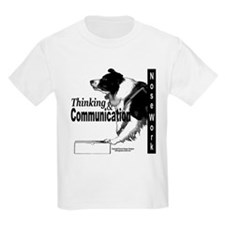 Nose work search border collie T-Shirt