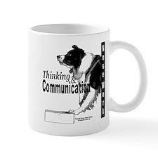 Nose work search border collie Mug