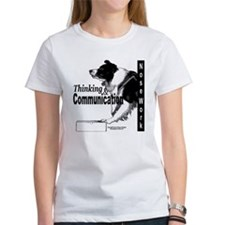 Nose work search border collie Tee