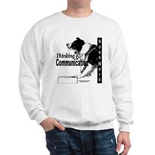 Nose work search border collie Sweatshirt