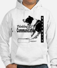 Nose work search border collie Hoodie
