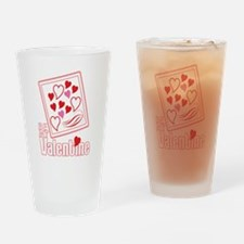 Be My Valentine Drinking Glass