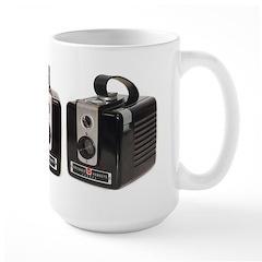 The Brownie Hawkeye Camera Large Mug