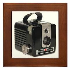 The Brownie Hawkeye Camera Framed Tile
