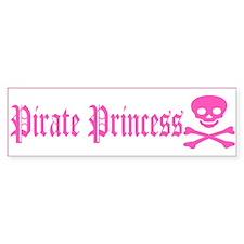 Pirate Princess Bumper Bumper Sticker