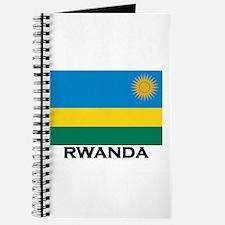 Rwanda Flag Merchandise Journal