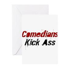 Comedians Kick Ass Greeting Cards (Pk of 10)