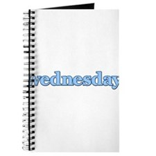 DAYS OF THE WEEK - WEDNESDAY Journal