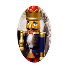 Nutcracker Oval Car Magnet