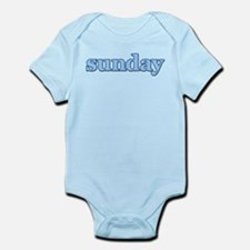 DAYS OF THE WEEK - SUNDAY Infant Bodysuit