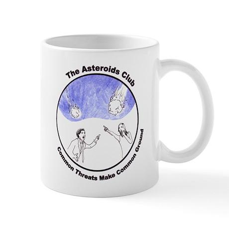 Small Asteroids Club Mug