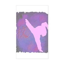 Girl Power Rectangle Decal