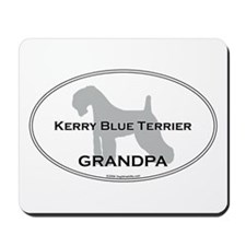 Kerry Blue GRANDPA Mousepad