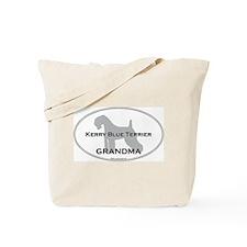 Kerry Blue GRANDMA Tote Bag