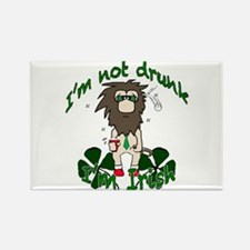 Irish drinker Rectangle Magnet
