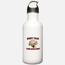 MONEY TALKS Sports Water Bottle