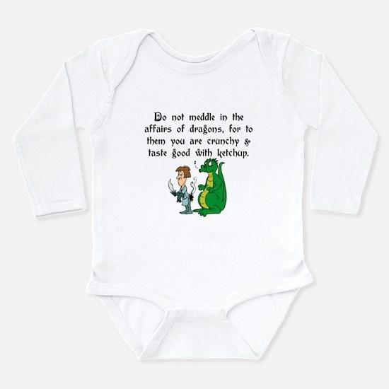 Kids knight Long Sleeve Infant Bodysuit