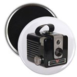 "The Brownie Hawkeye Camera 2.25"" Magnet (10 p"