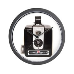 The Brownie Hawkeye Camera Wall Clock