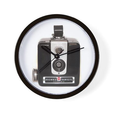 The Brownie Hawkeye Camera Wall Clock